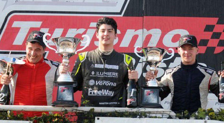 Leston disfrutó de su primera victoria en la categoría.