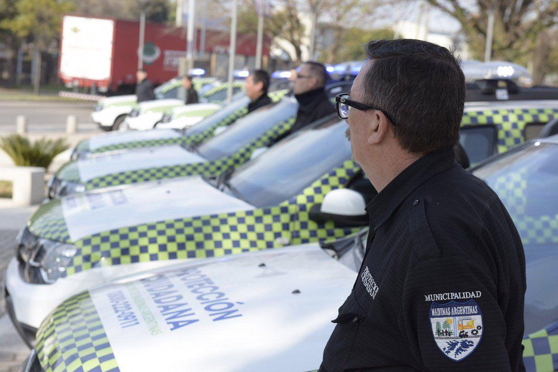 El Municipio de Malvinas Argentinas incorporó diez nuevos patrulleros para Protección Ciudadana