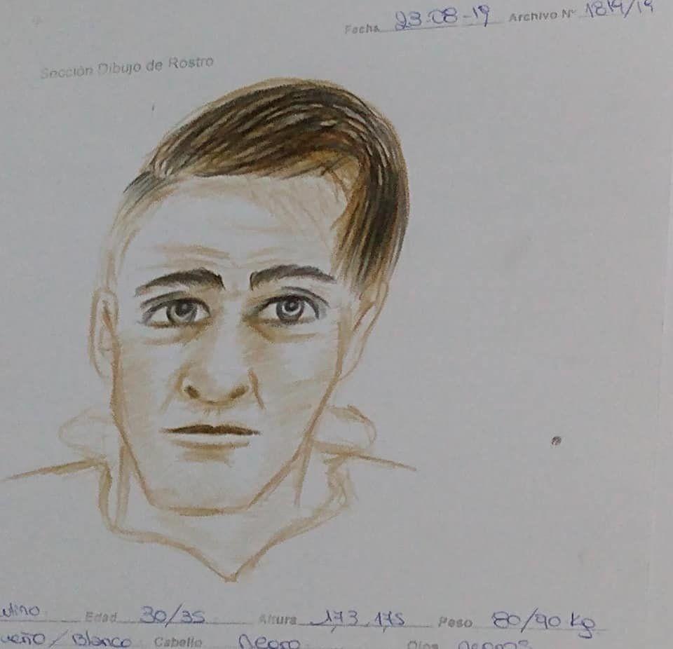 Temperley: difunden identikit de sospechoso de haber matado a vecino