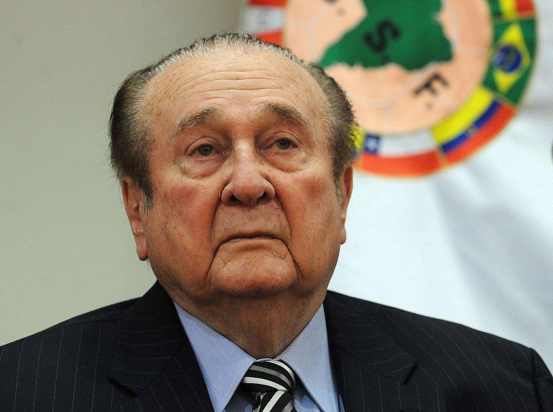 Falleció el ex presidente de la Conmebol, Nicolas Leoz