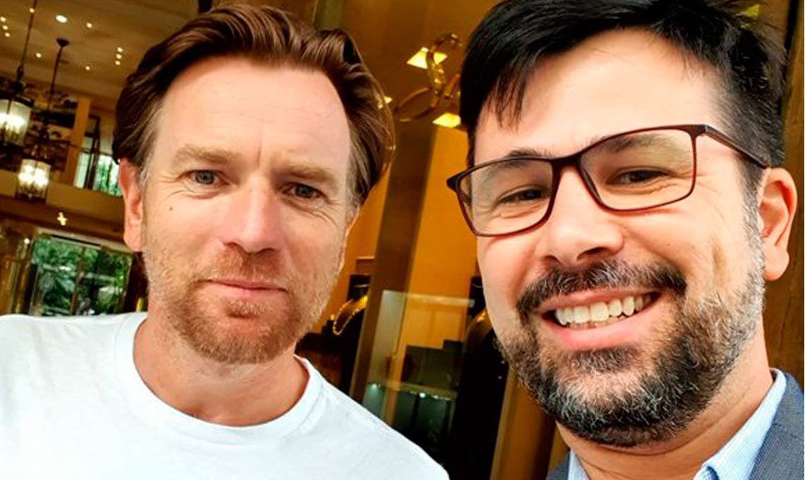 Ewan McGregor está en Argentina y viajará desde Ushuaia hasta Ecuador