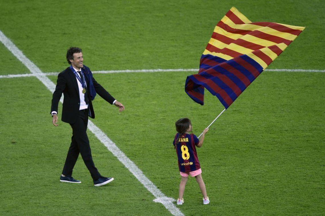 Falleció Xana, la hija de Luis Enrique, ex entrenador del Barcelona y la Selección de España