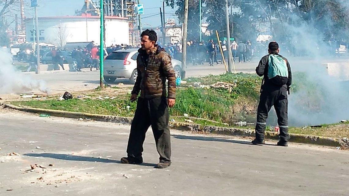 La Plata: incidentes entre cooperativistas y la Policía dejaron 2 heridos