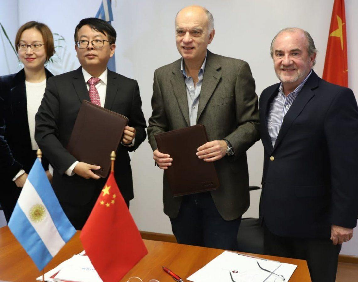 Lanús: firmaron convenios con la ciudad de China de Changzhou
