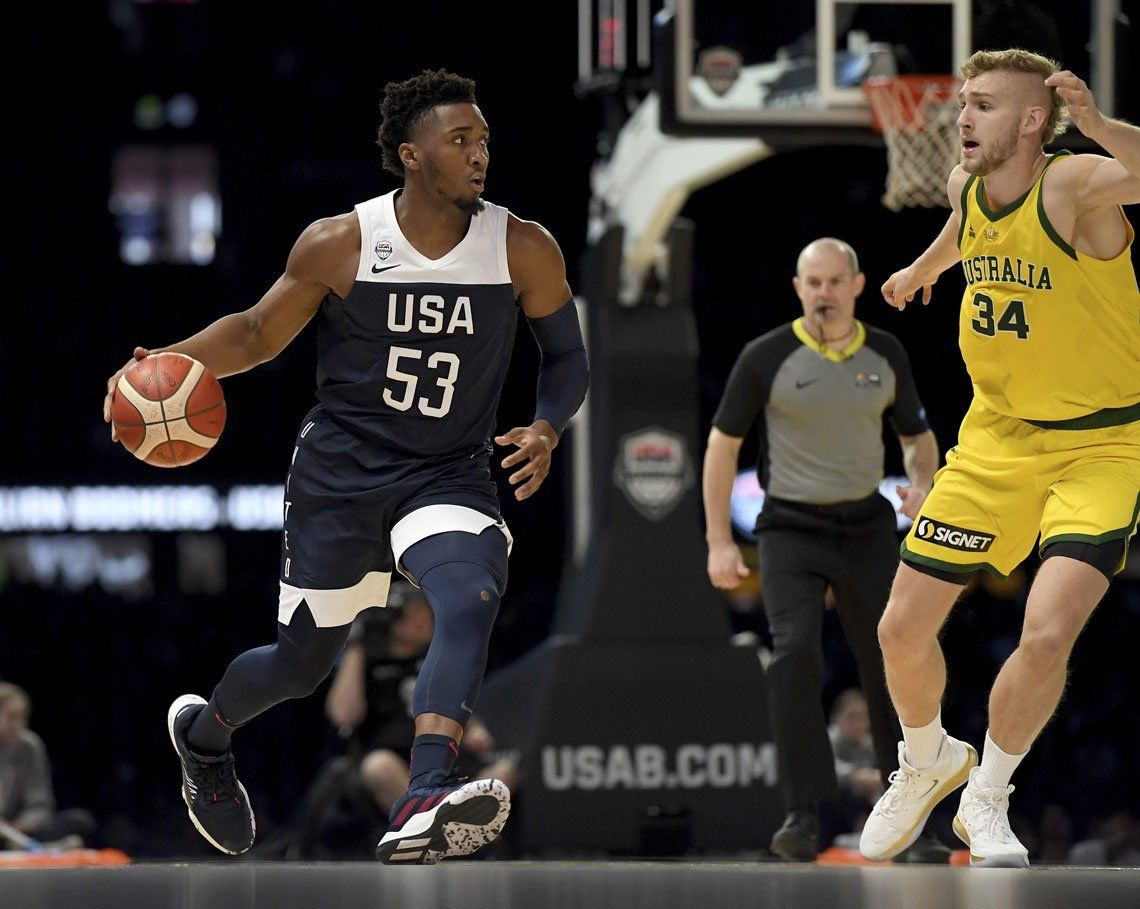 Donovan Mitchell |Gregg Popovich cree que el joven de los Jazz está listo para liderar al Dream Team