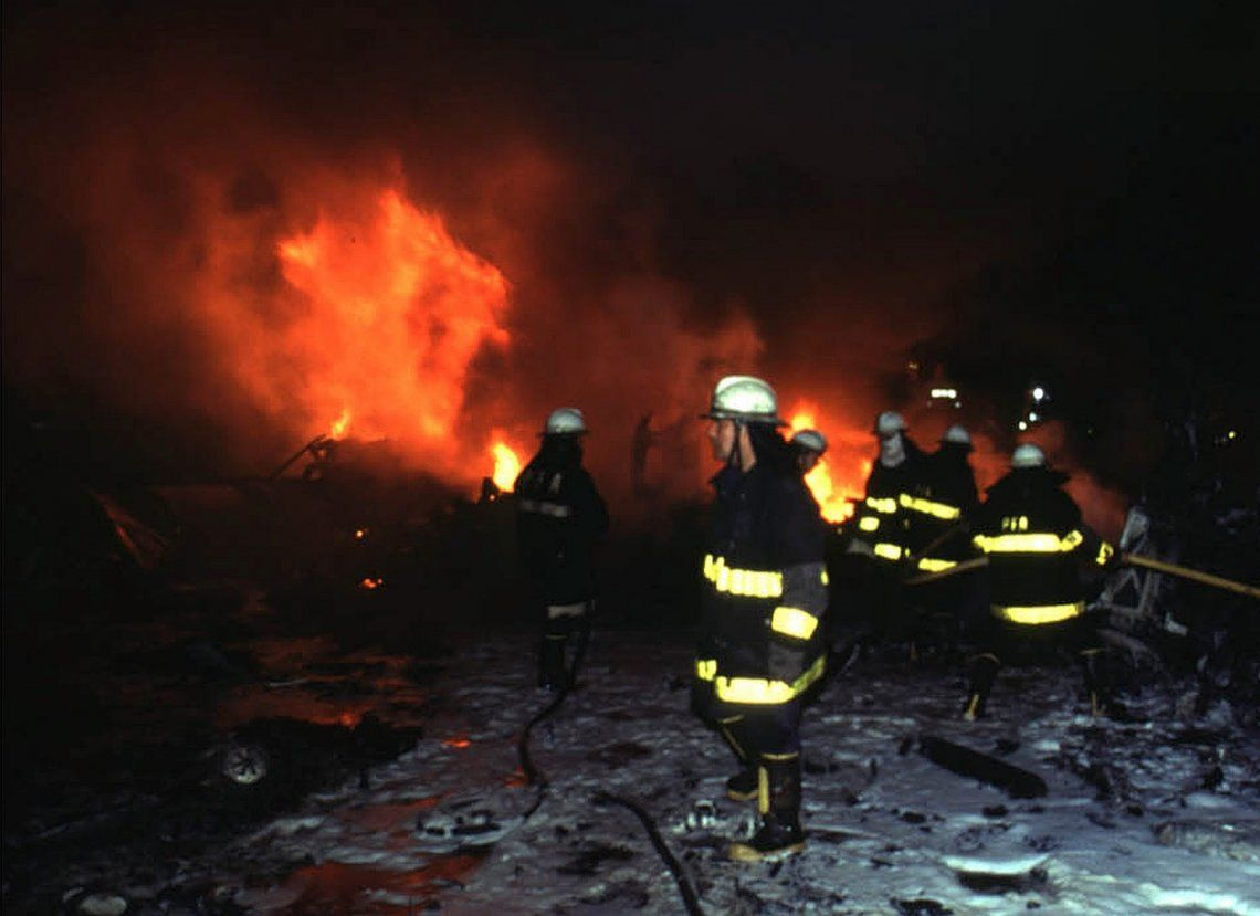 El accidente ocurrió a las 20.54 del 31 de agosto de 1999.