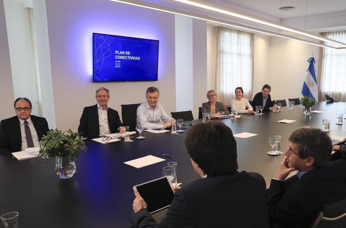 Macri encabezó ayer en la residencia de Olivos distintas reuniones.