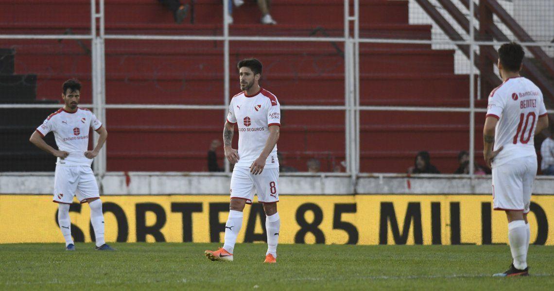 Independiente volvió a mostrar una versión muy pobre y perdió con Patronato