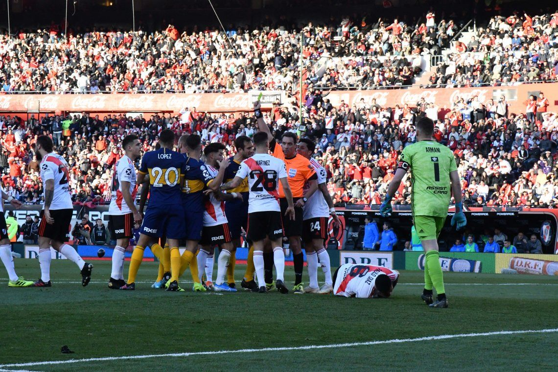 Cepo al gol: River y Boca quedaron en cero en el Superclásico