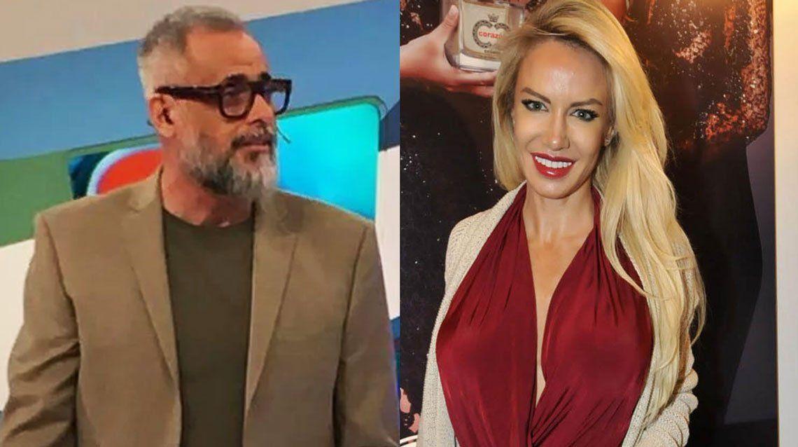 Jorge Rial y Luciana Salazar discutieron el cepo por las redes sociales