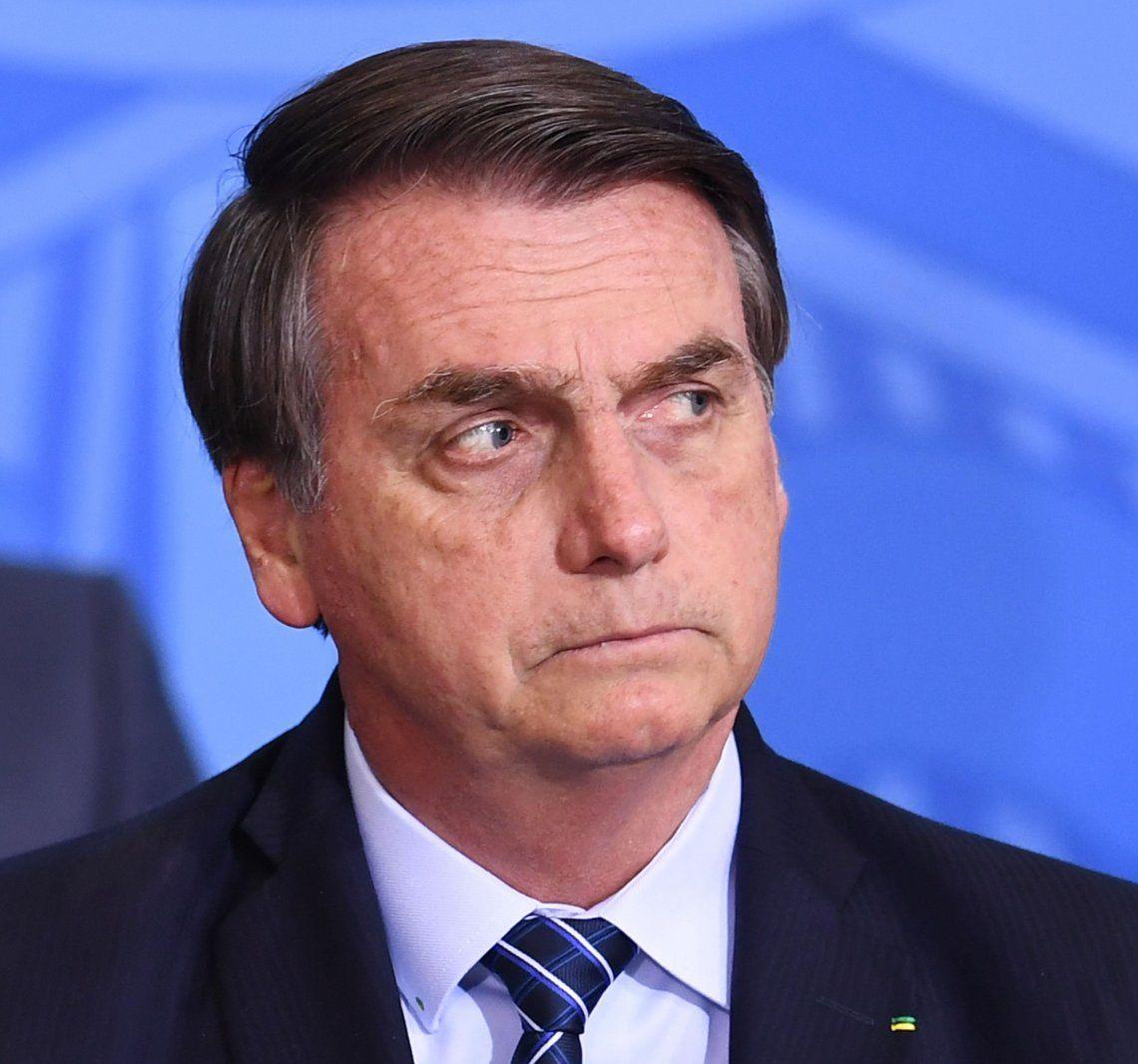 La popularidad del polémico presidente de Brasil