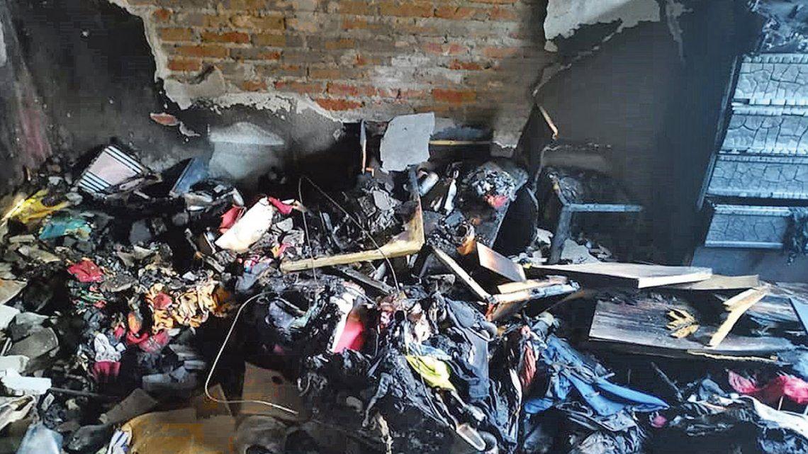 Quilmes | Marina Madonia: Incendió mi casa porque no quise volver a estar con él, estoy viva de milagro