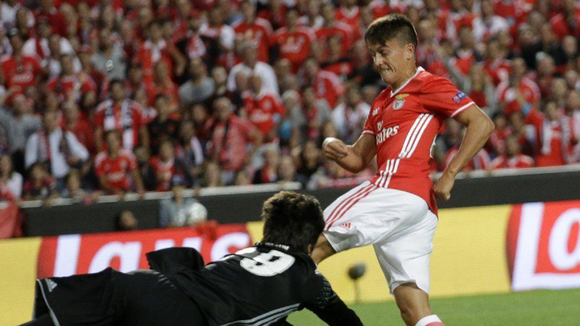La novela llegó a su fin: Franco Cervi no jugará en Boca y ya está inscrito en la lista del Benfica para la Champions League