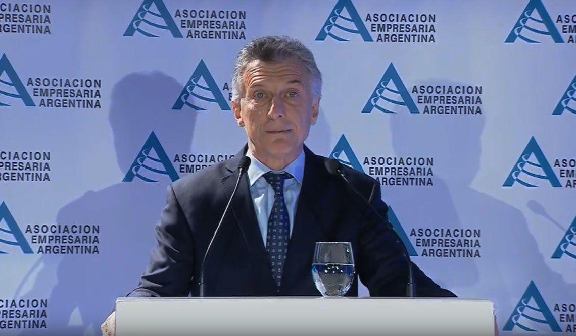 Macri: Vamos a cuidar los ahorros de la clase media