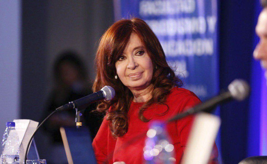 Cristina presentó su libro el sábado pasado en la Facultad de Periodismo de la Universidad Nacional de La Plata.
