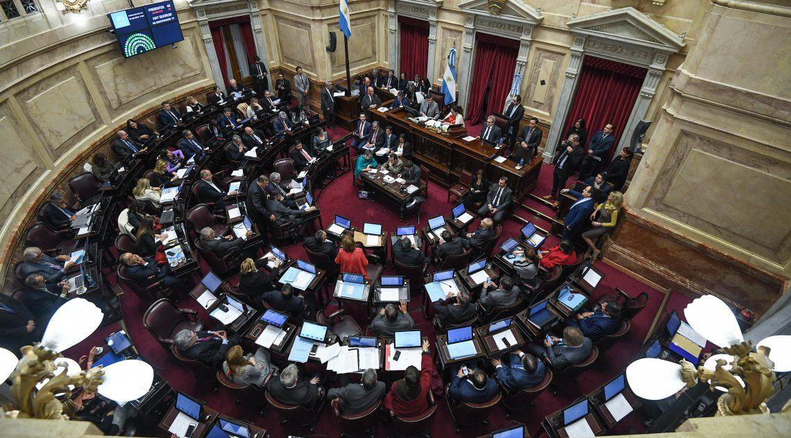 El Senado no sesiona desde el 17 de julio pasado.