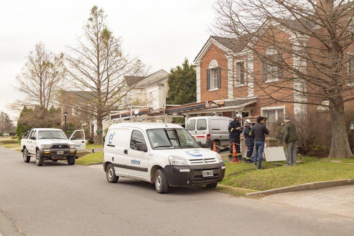 Pilar: detectan decenas de conexiones eléctricas ilegales en un barrio cerrado