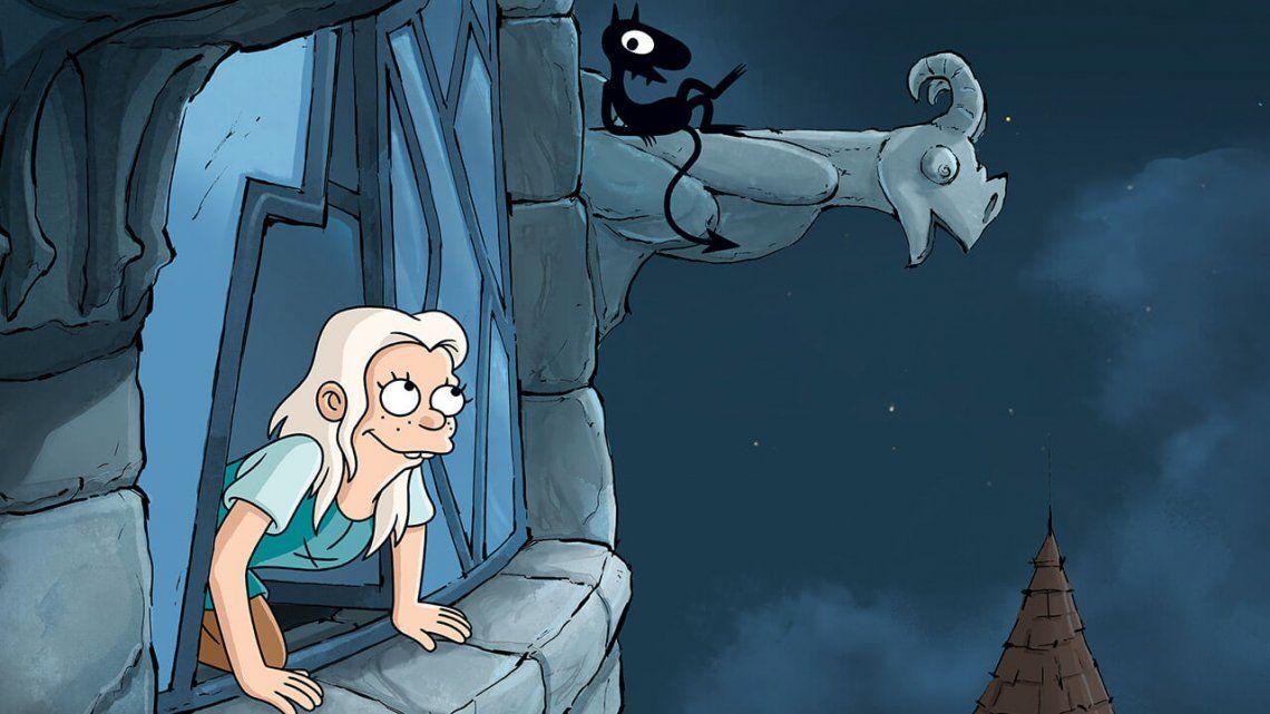 Nuevo trailer de (Des)encanto: Matt Groening nos llevará al infierno en la segunda temporada