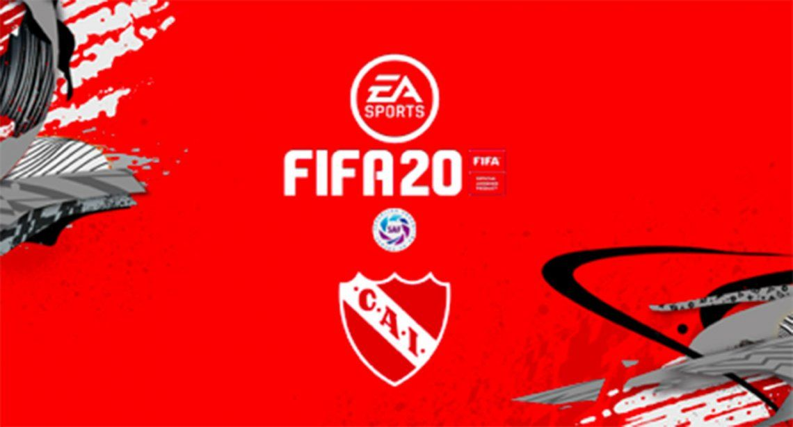 Independiente sigue los pasos de Racing y firma con EA Sports