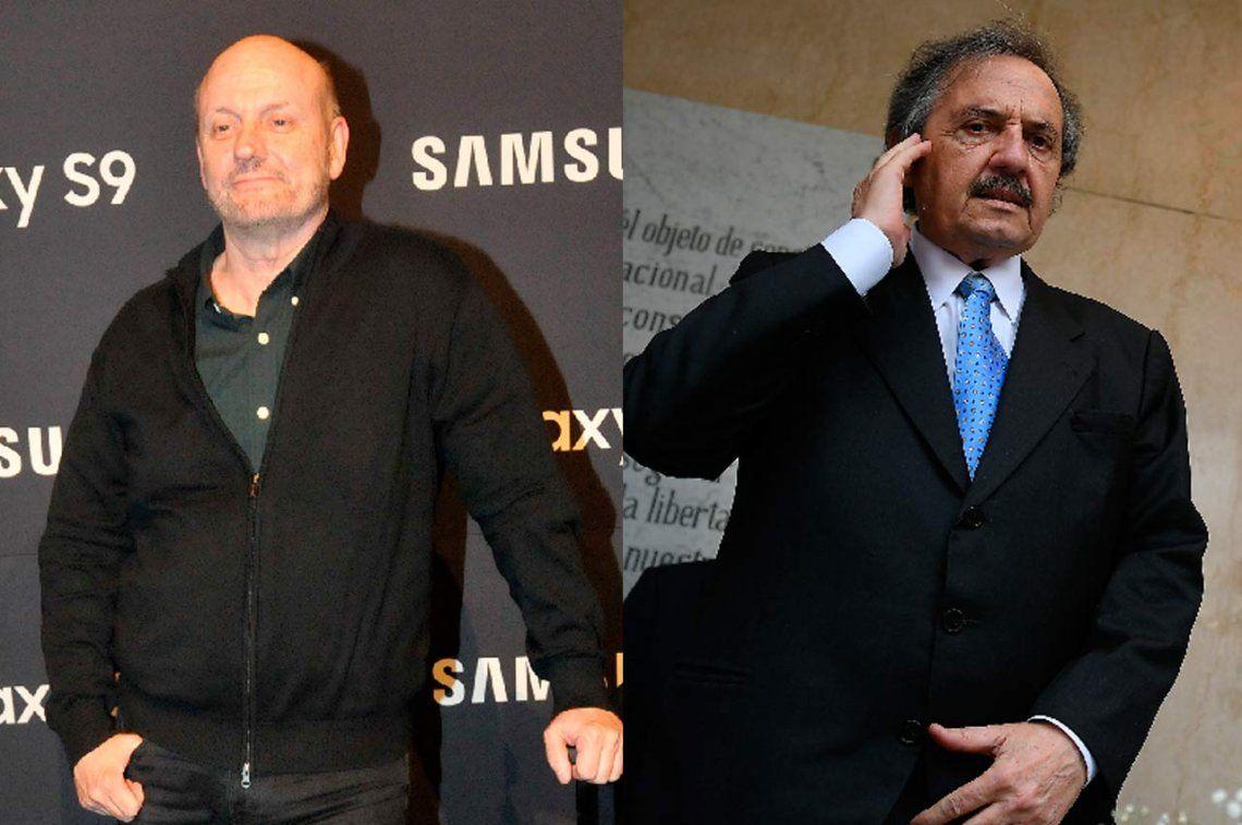 El cruce tuitero de Juan José Campanella con Ricardo Alfonsín: Le pido que deje de usar los trajes del padre