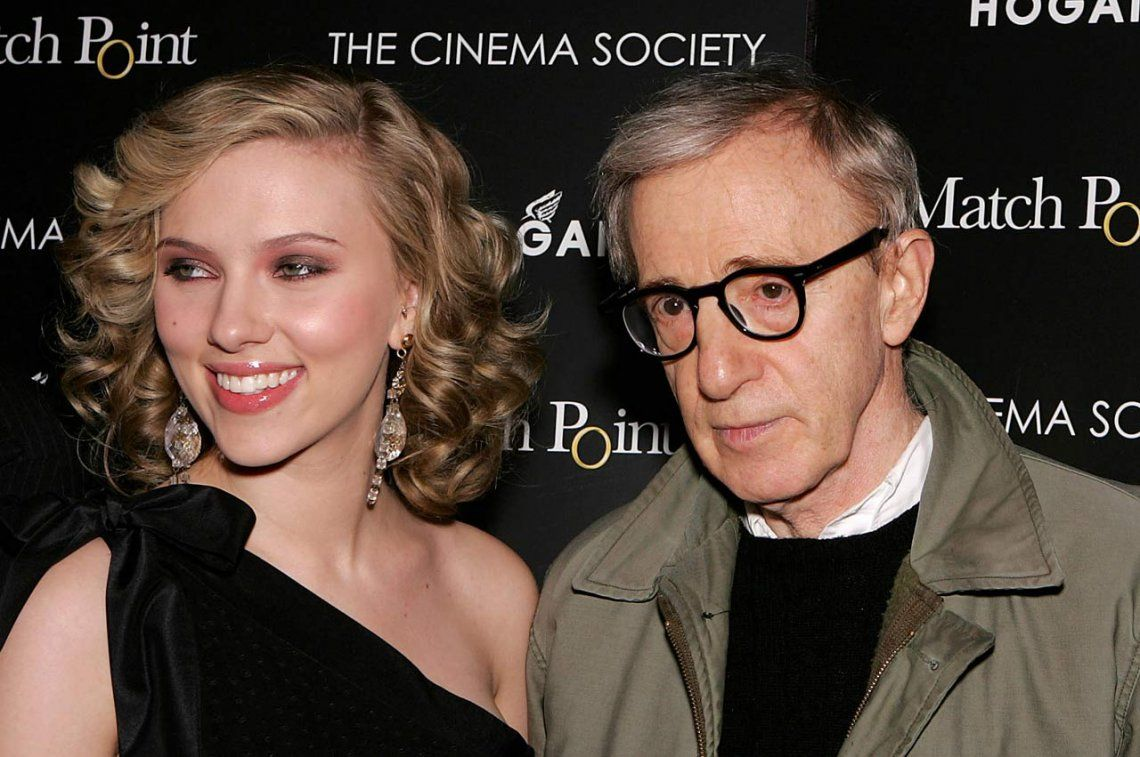 La actriz Scarlett Johansson defendió a Woody Allen