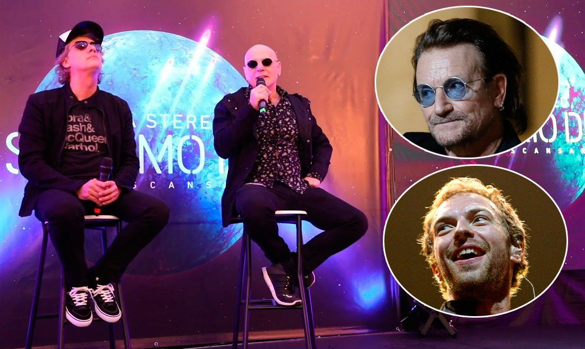 Soda Stereo podría volver a los escenarios con Bono o Chris Martin como vocalistas