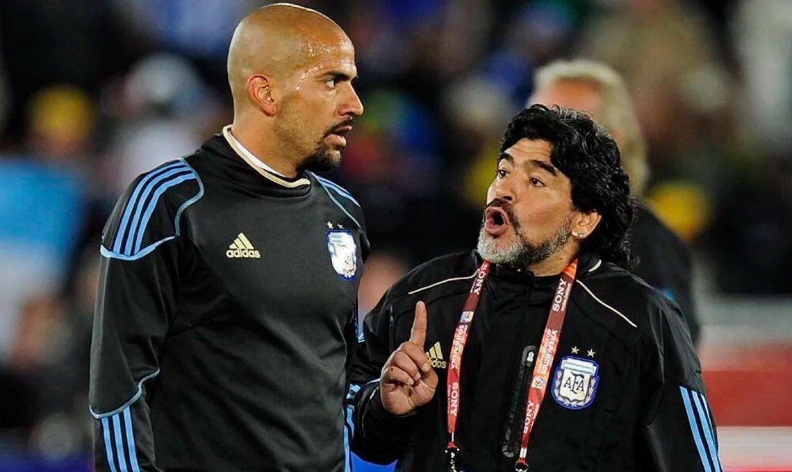 Verón y la relación con Diego Maradona: El tiempo cura toda herida