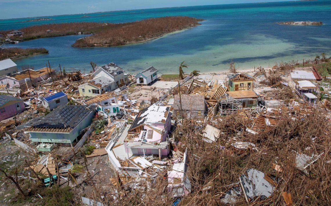 Miles quedaron sin hogar en las islas más afectadas.