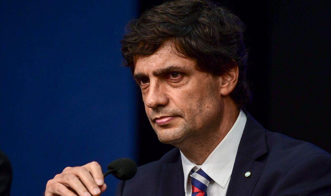 El ministro Hernán Lacunza había recibido a economistas del PJ.