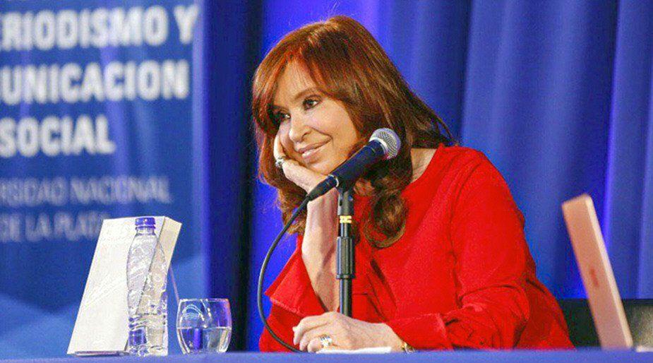 Cristina presentará hoy en Posadas su libro.