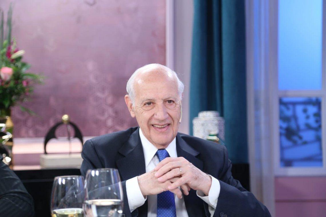 Roberto Lavagna en la mesa de Mirtha Legrand: Se necesita un gobierno de unidad nacional