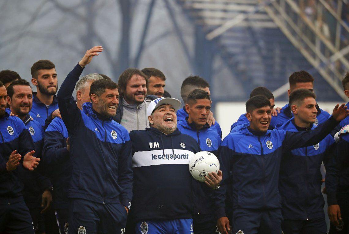 ¿Qué se le viene al Diego? Todos los partidos que Maradona dirigirá en la Superliga con Gimnasia de La Plata