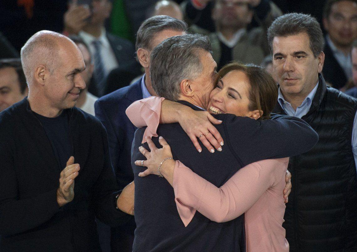 Mauricio Macri saludó a Maria Eugenia Vidal por su cumpleaños y destacó la marcha en Morón: Se merece eso y mucho más