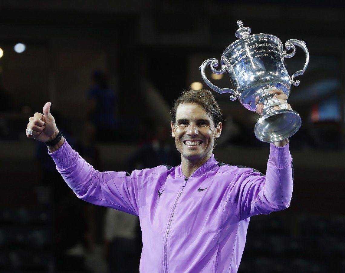 Rafael Nadal venció a Daniil Medvedev en un partido inolvidable, es el nuevo campeón del US Open y sumó su 19° Grand Slam, a uno de Roger Federer