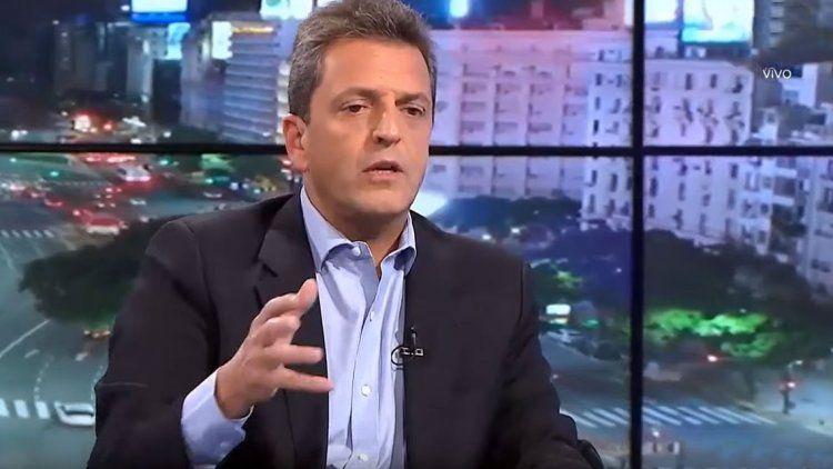 Massa: La decisión de Alberto Fernández es la de construir legitimidad