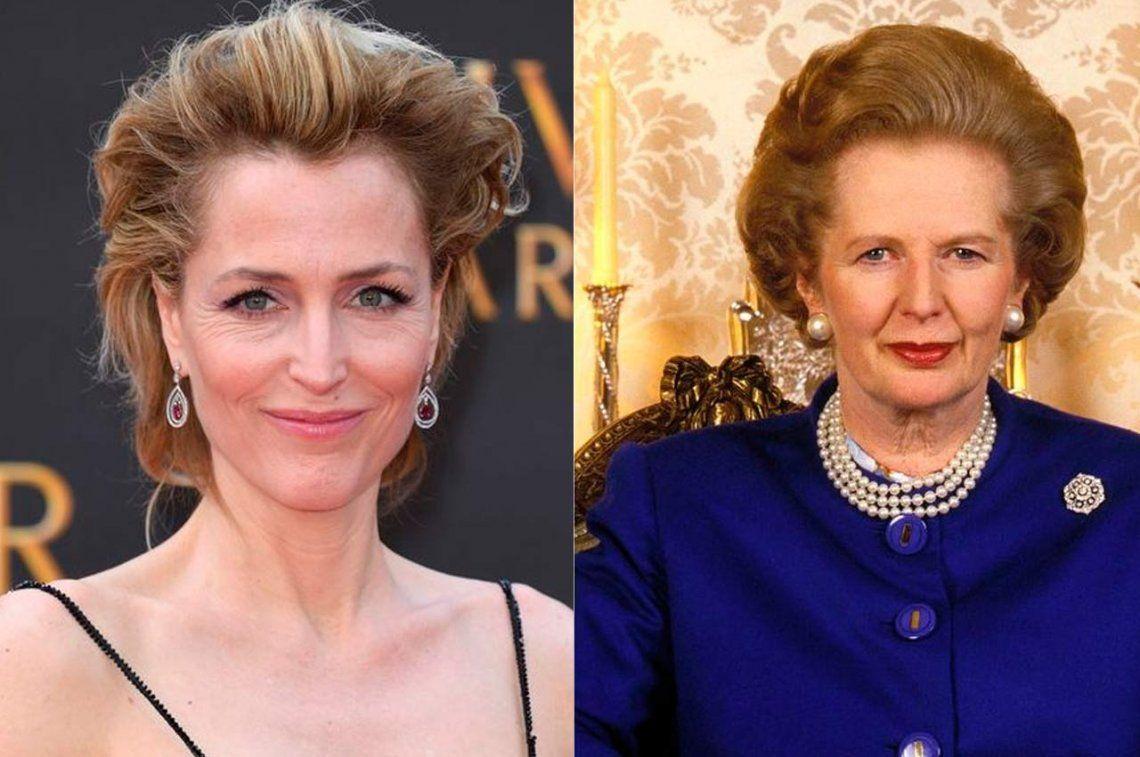 Gillian Anderson, Scully en The X-Files, será Margaret Thatcher en The Crown