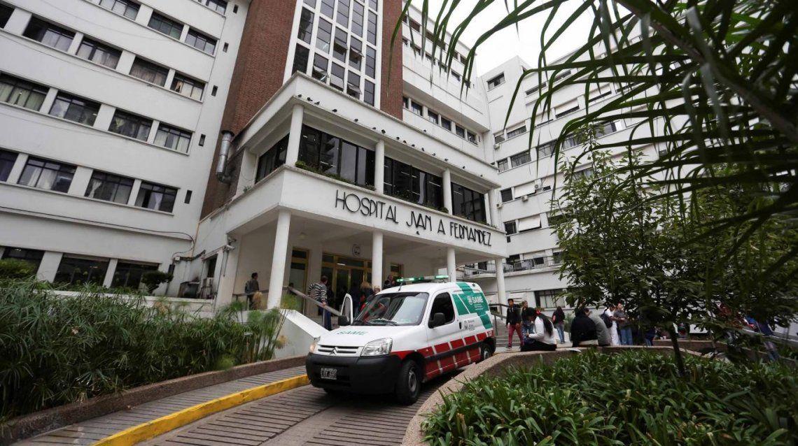 El hospital Fernández brindó un parte médico de Santiago Siciliano: Estable y con pronóstico reservado