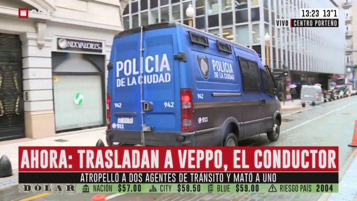 Veppo ya está en Tribunales para comenzar con su declaración