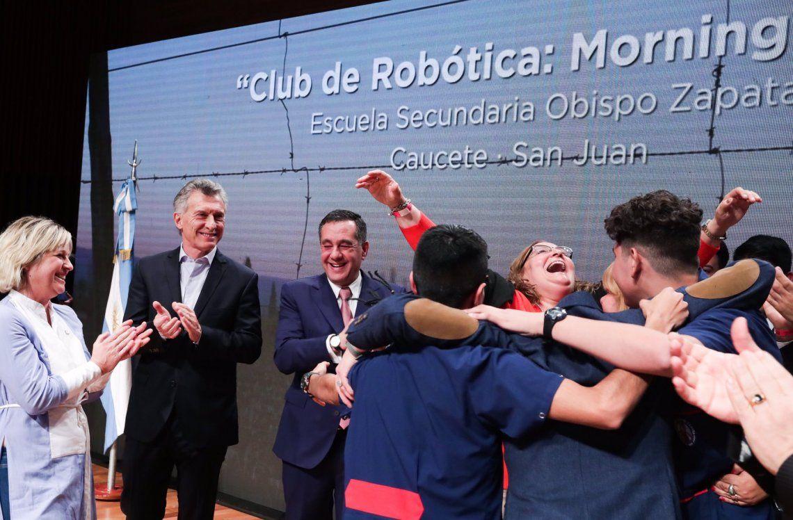Maestros Argentinos: de qué se trata el premio que Macri le entregó a los educadores