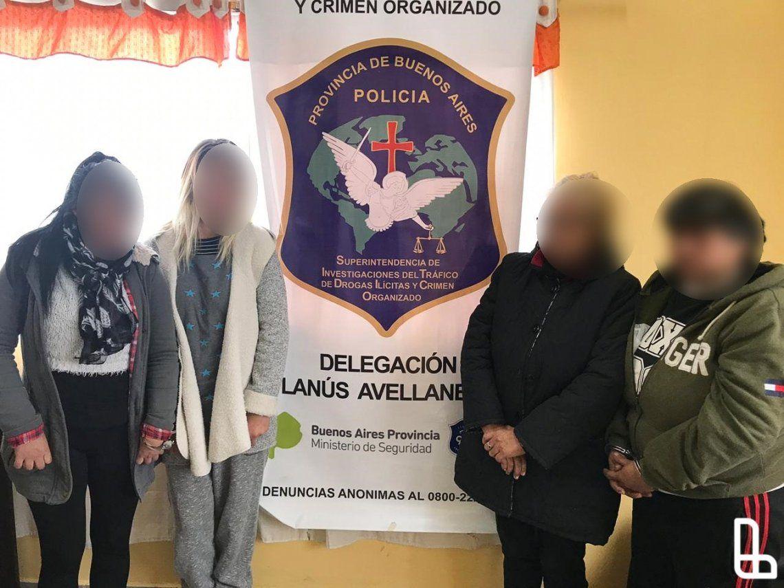 Lanús: cayeron las narcohermanas de Villa Jardín