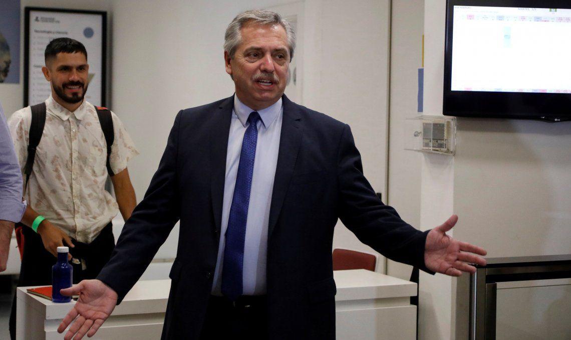 Alberto Fernández mantuvo un encuentro privado con Miguel Acevedo, el titular de la UIA