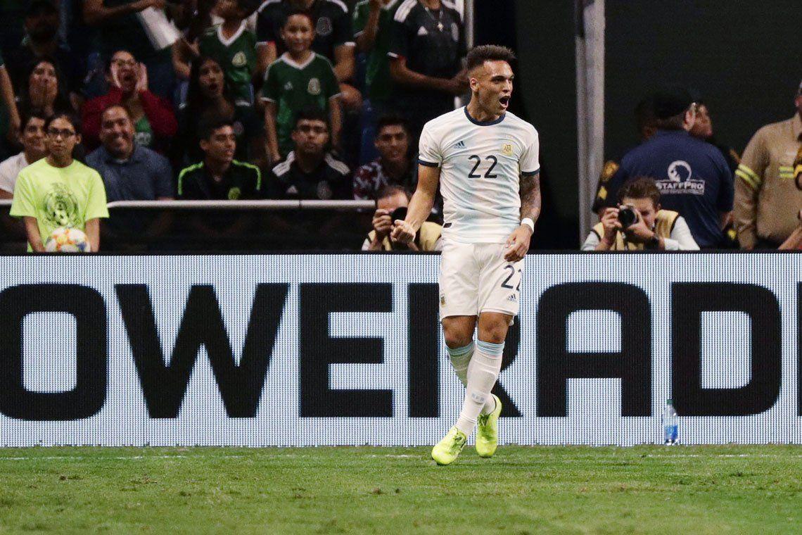 Las mejores fotos de la goleada de Argentina ante México