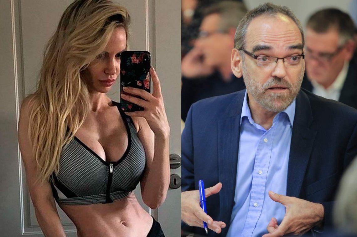 Fernando Iglesias fue ridiculizado por Luciana Salazar en las redes