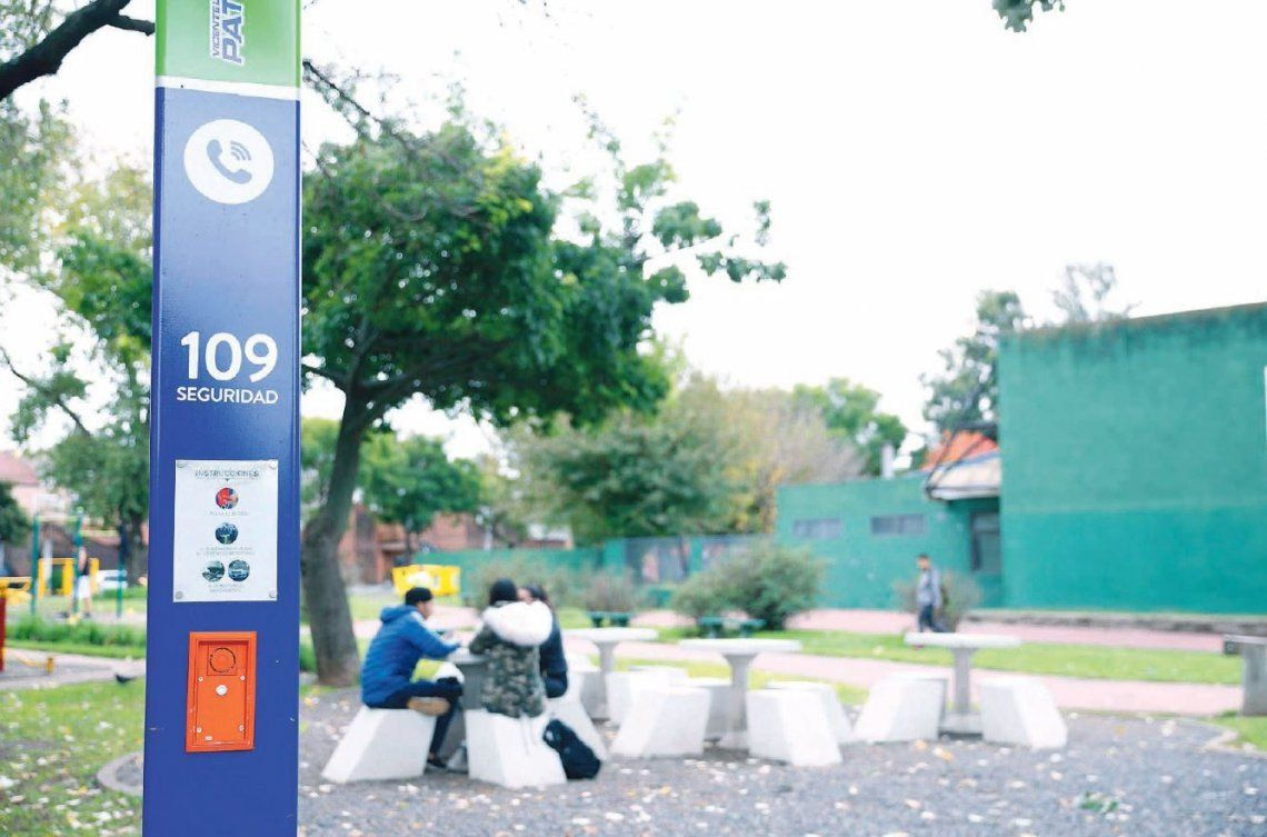 Vicente López: ya son 50 los puntos seguros en el municipio