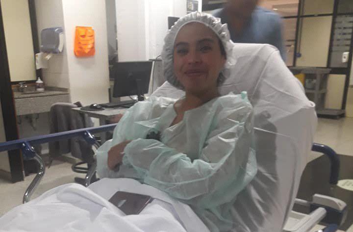 Brenda recibió un trasplante bipulmonar el 30 de abril.