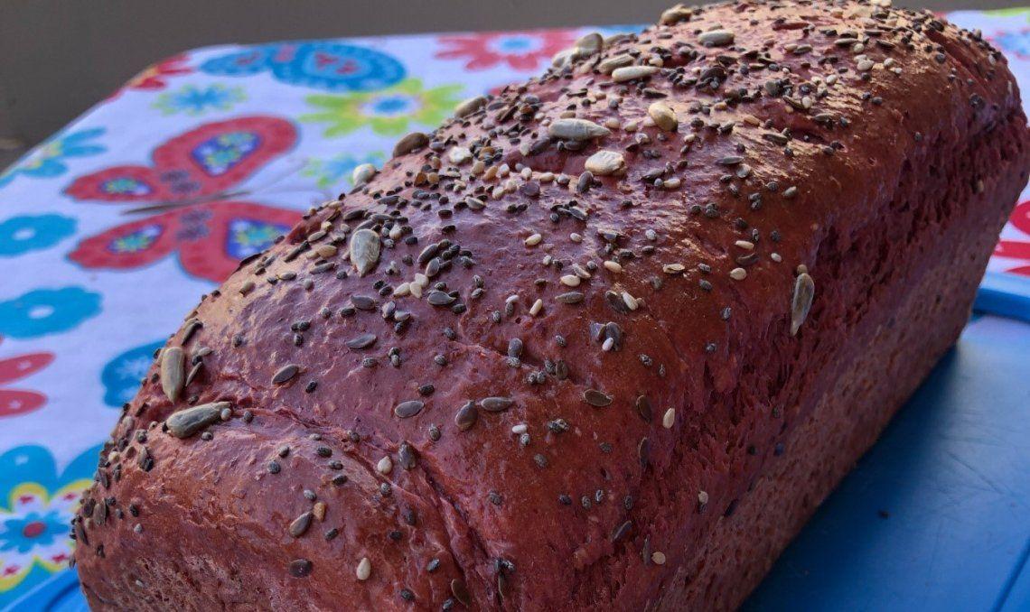 Con el pan betalaína