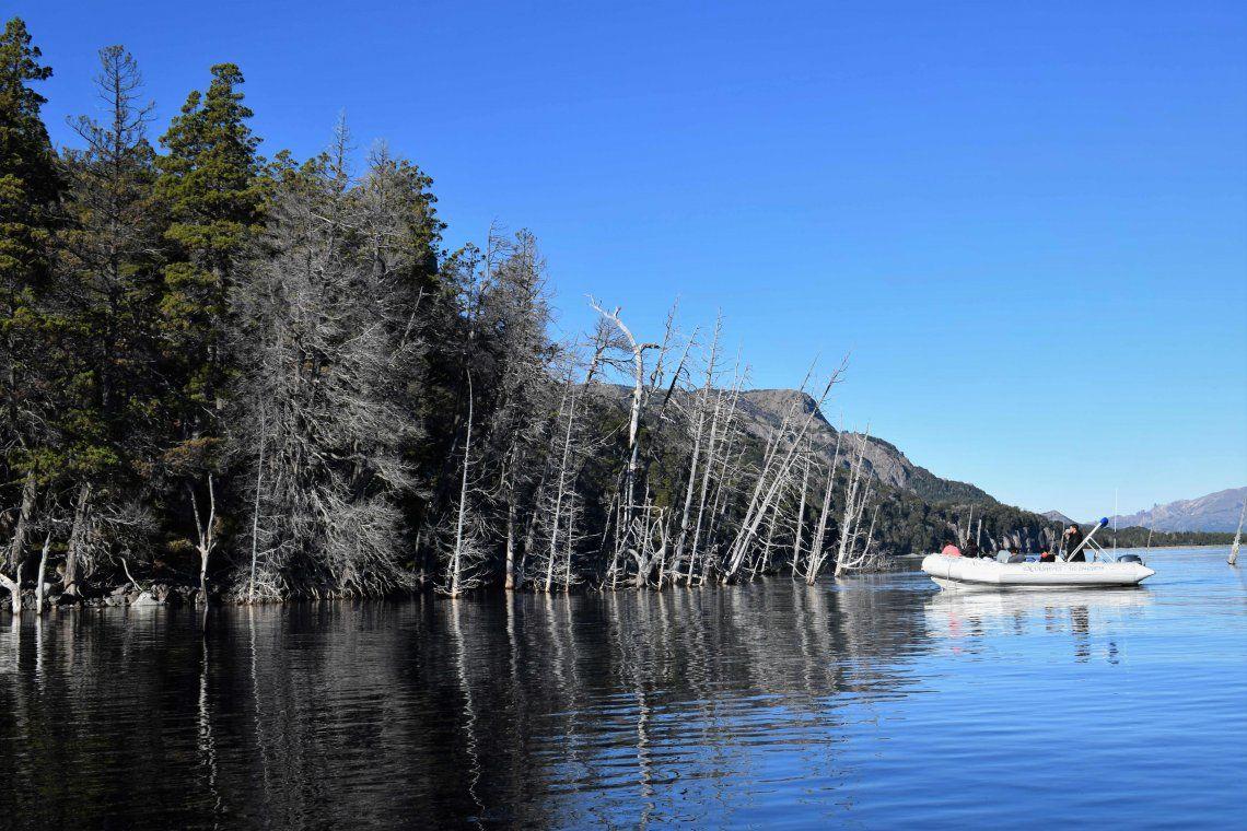 Neuquén: advierten sobre el peligro de un tsunami en Villa Traful