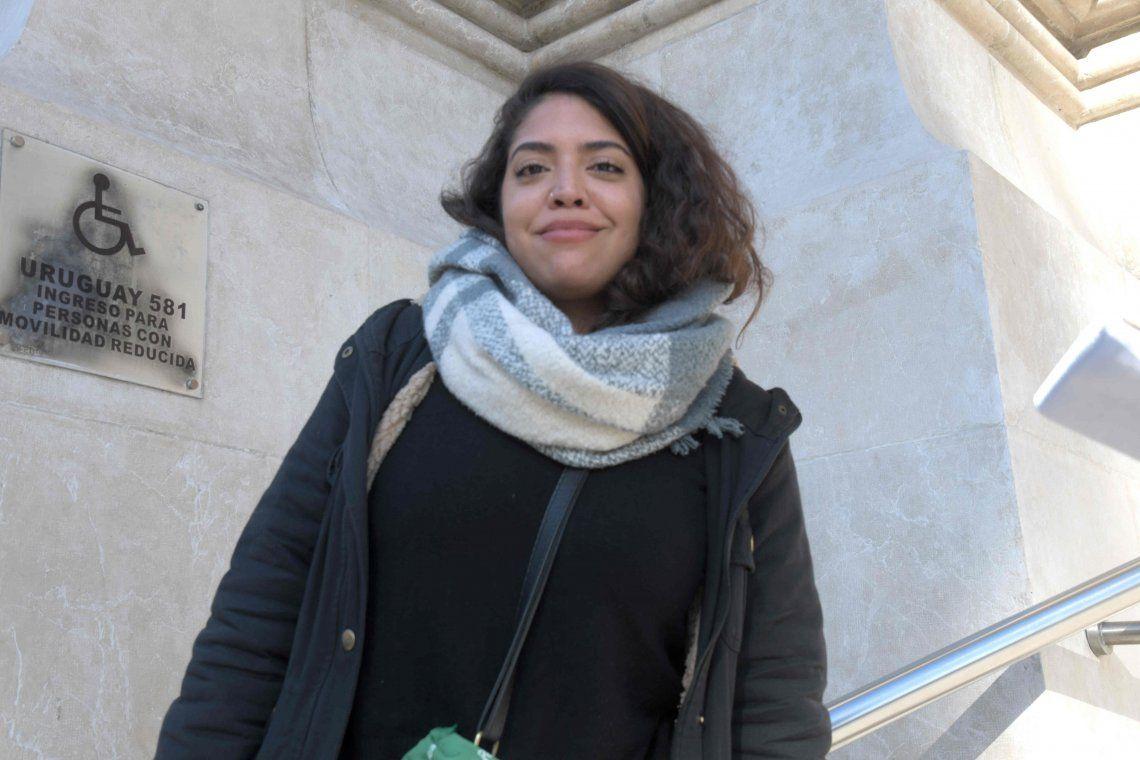 Habló Lucía Otero, denunciante de Lucas Carrasco: Me sorprendió la condena de 9 años
