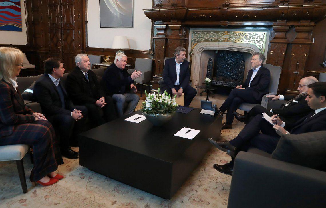 Macri se reunió con líderes evangélicos para analizar la ayuda a sectores vulnerables