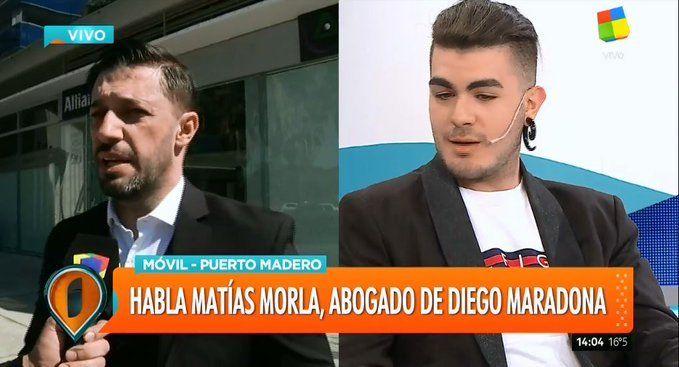 Matías Morla se reunió con los abogados del sexto hijo de Diego Maradona